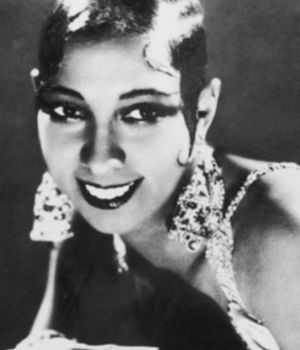 Archival Shot of Josephine Baker